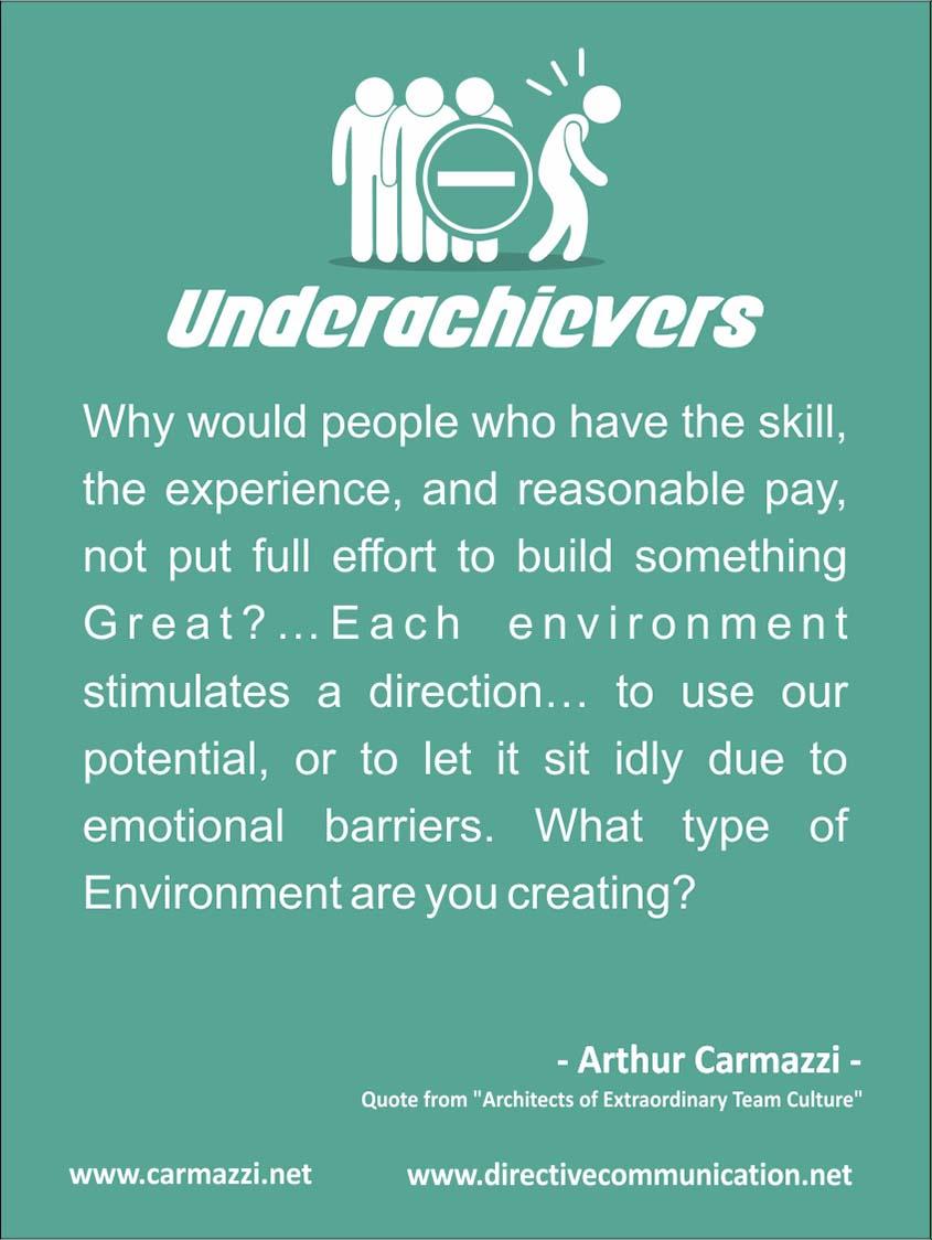 Underachievers